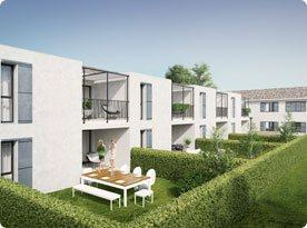 appartement Tuin/Terras
